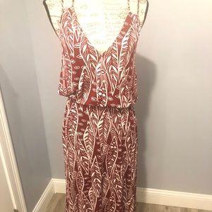 NWT Loft Beach Halter Dress
